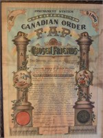Canadian Order of Chosen Friends Life Insurance Ce