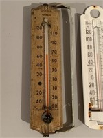Early Group of Outdoor Thermometers
