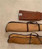 Group of Gun and Rifle Cases as Shown