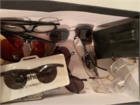 Lot of Many Eye Glasses and Cases