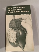 Antique Tyco's Hand Model Aneroid