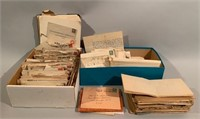 Large Group of Letters and Envelopes