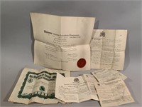Many Graduation Documents on Various Levels