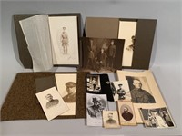 Early Military Photographs Lot