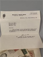 Excellent Lot of Military Letters and Documents