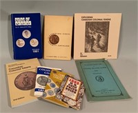 Books of Coins-Stamps and Tokens