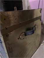 Old Shipping Trunk and Doctors Bag