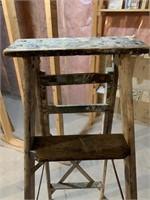 Antique Wooden Ladder