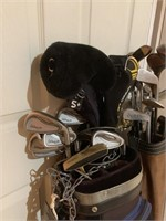 Two Sets of Golf Clubs-Bags and Accessories