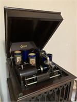 Late 1800's Edison Wax Cylinder Gramophone