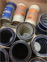 Large Lot of Many Edison Wax Cylinder Records