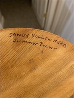 "Original Sandy Yellowhead ""Summer Beaver"" & Carv"