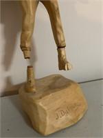 J.DuFour Quebec Folk Art Carvings