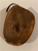 Very Early Native Tribal Wooden Mask
