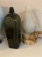 Globemaster Globe-Bottles and Lamp