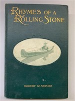 Robert W Services Rymes of A Rolling Stone Book
