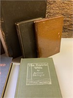 Circa 1815 Bible and Group of Antique Books