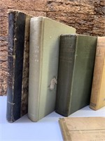 First Editions and Other Hard Cover Early Books