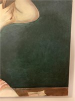Fine Oil on Stretched Canvas Painting
