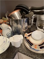 Contents of Kitchen Counter as Shown