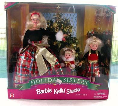 HOLIDAY SISTERS BARBIE * KELLY & STACIE Otros Articulos Para