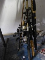 Misc. fishing rods/reels