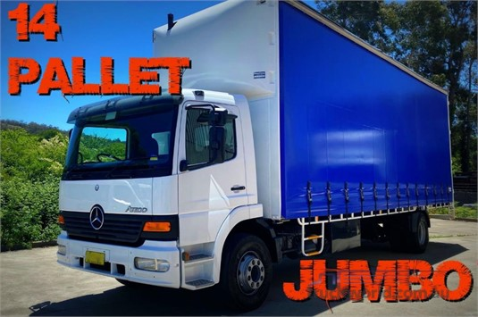 2004 Mercedes Benz Atego Southern Star Truck Centre Pty Ltd - Trucks for Sale