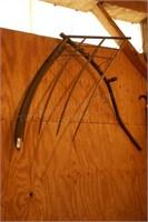 Grain / Hay Scythe w/ Bundle Tines