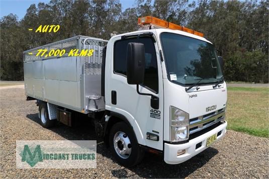 2013 Isuzu NPR 400 Premium Midcoast Trucks - Trucks for Sale