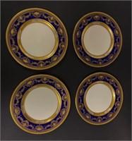 12 Early Lenox Dinner Plates