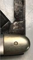 """Vintage Robson 3 Blade Pocket Knife 3"""" Long"""