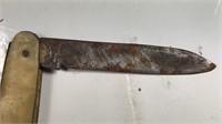 """Vintage 2 Blade Pocket Knife 3"""" Long"""