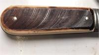 """Vintage Barlow Pocket Knife 2 Blades 3"""" Long"""