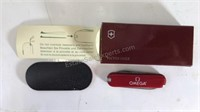 Victorinox Omega Watch Premium Pocket Knife