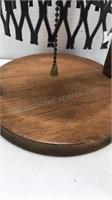 Vintage Wood and Metal Mid Century Styled