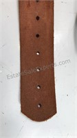 Vintage Boy Scouts Leather Sporting Clay Shooting