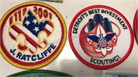 11 Boy Scout Patches