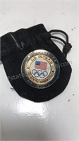 US Olympic 6th Ring London Commemorative Pin with