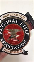 NRA Sticker NSSA and Bobsled Patches