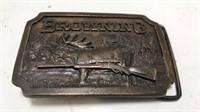 1977 Indiana Metal Craft Brass Browning Belt