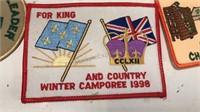 1990's Boy Scout Bandanna and Patches