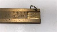 Vintage Brass Pocket Caliper