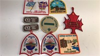 Collection of 1990's Boy Scout Patches