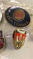Collection of Vintage Enamel Pins