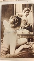"""8 Vintage French Pin-Up Postcards 5"""" wide"""