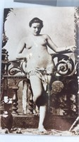 """6 Vintage French Pin-Up Postcards 5"""" Tall"""