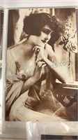"""5 Vintage French Pin-Up Postcards 5"""" Tall"""