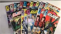 Collection of 14 Marvel GI Joe Comic Books