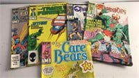 Collection of Vintage Comics Transformers