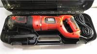 Black and Decker Corded Reciprocal Saw in Plastic